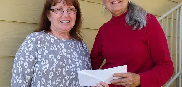 Fall Fiesta Run Donates to SMRF