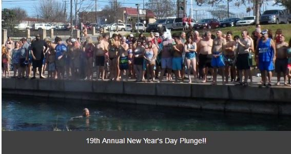 A Pleasantly Plunging Start to the New Year!
